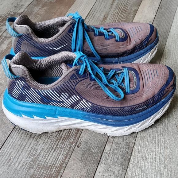 Hoka One One Shoes | Bondi 5 Blue Size